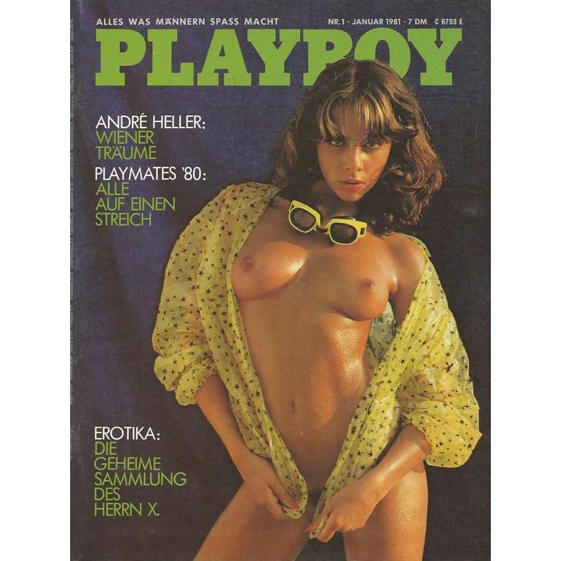 Playboy Nr.1 / Januar 1981 - Yasmine Mehr-Aine
