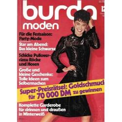 burda Moden 12/Dezember 1982 - Party Mode