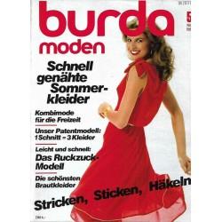 burda Moden 5/Mai 1981 - Genähte Sommerkleider