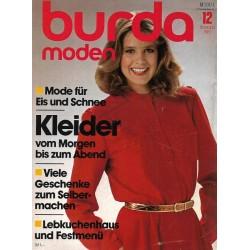 burda Moden 12/Dezember 1981 - Kleider vom Morgen bis...