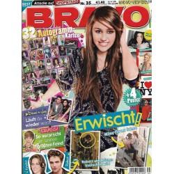 BRAVO Nr.35 / 25 August 2010 - Erwischt! Miley flirtet fremd