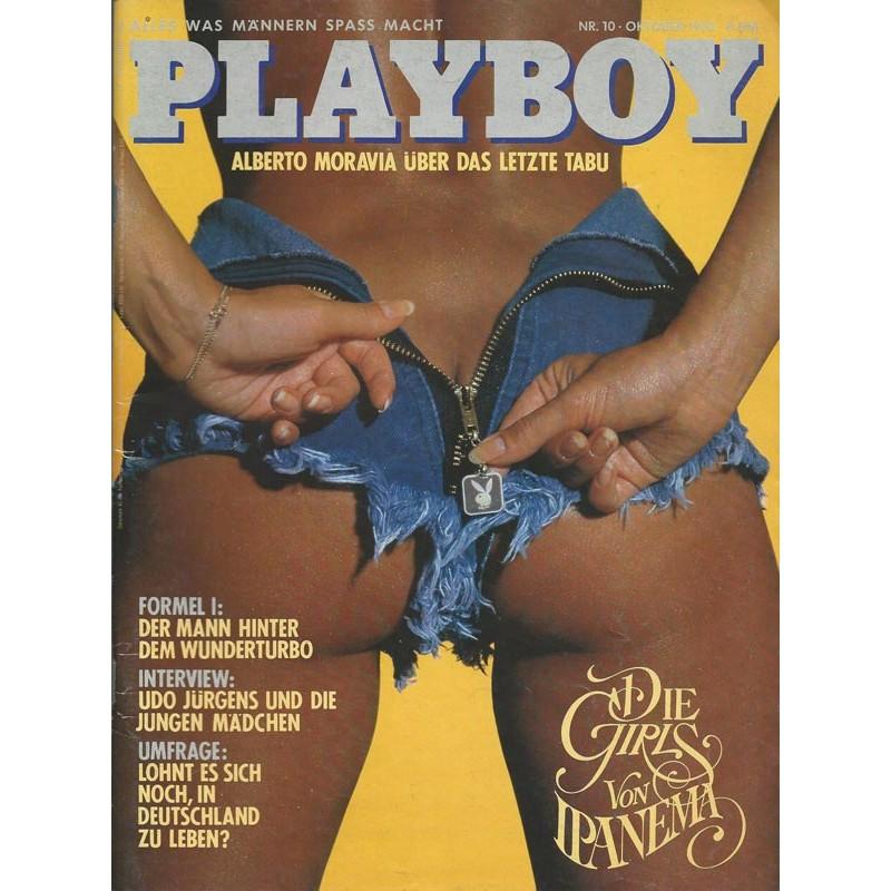 Playboy Nr.10 - Oktober 1982 - Anissa Bonina