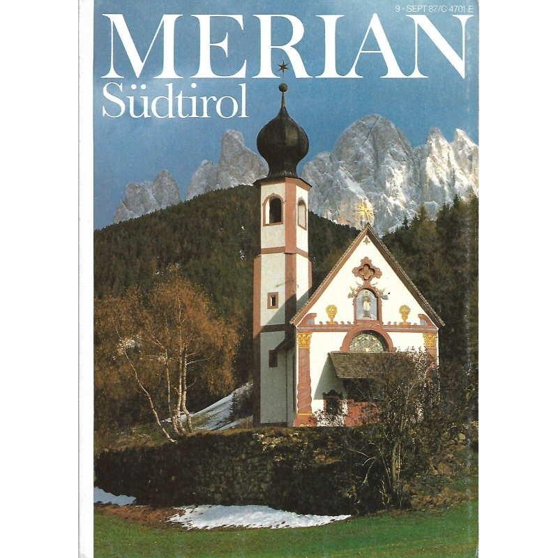 MERIAN Südtirol 9/40 September 1987