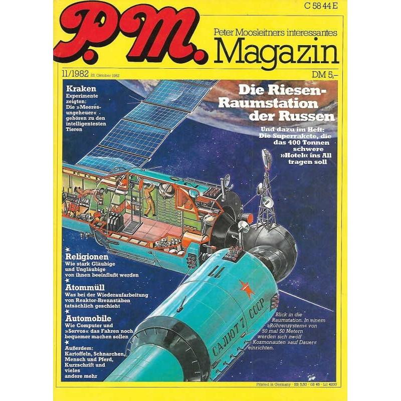 P.M. Ausgabe November 11/1982 - Raumstation der Russen