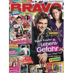 BRAVO Nr.38 / 15 September 2010 - Schock! Rob + Kristen