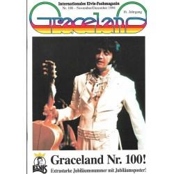 Graceland Nr.100 November/Dezember 1994 - Mit Jubiläumsposter