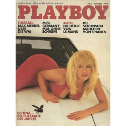 Playboy Nr.6 / Juni 1982 - Bettina Mey