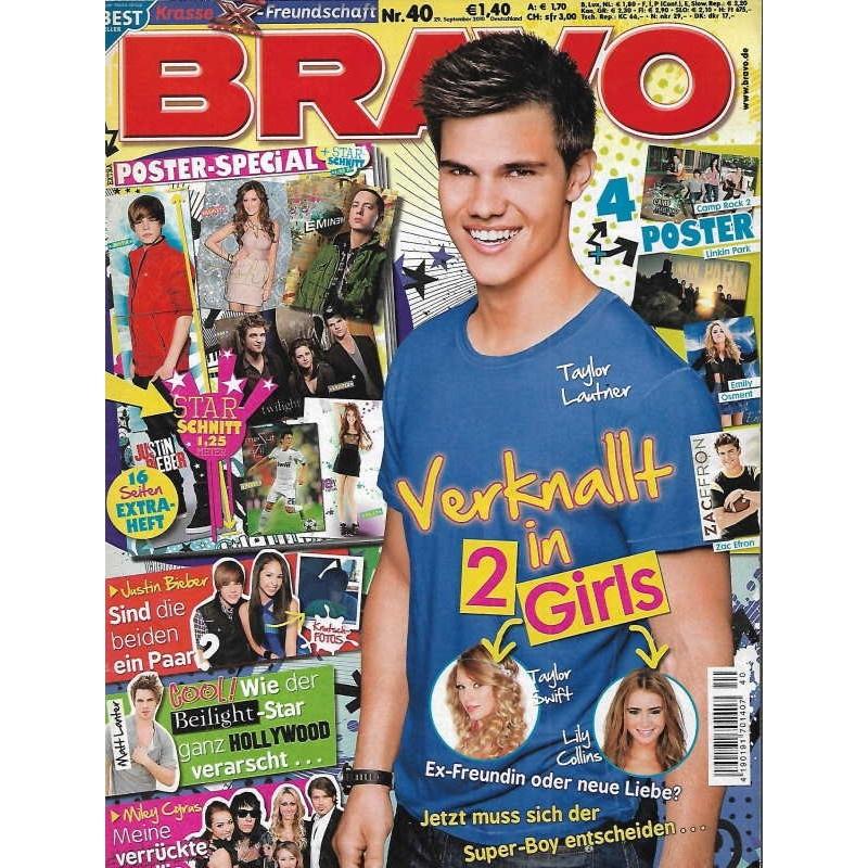 BRAVO Nr.40 / 29 September 2010 - Taylor Lautner verknallt in...