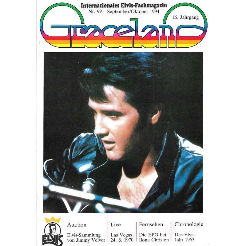 Graceland Nr.99 September/Oktober 1994 - Elvis Sammlung