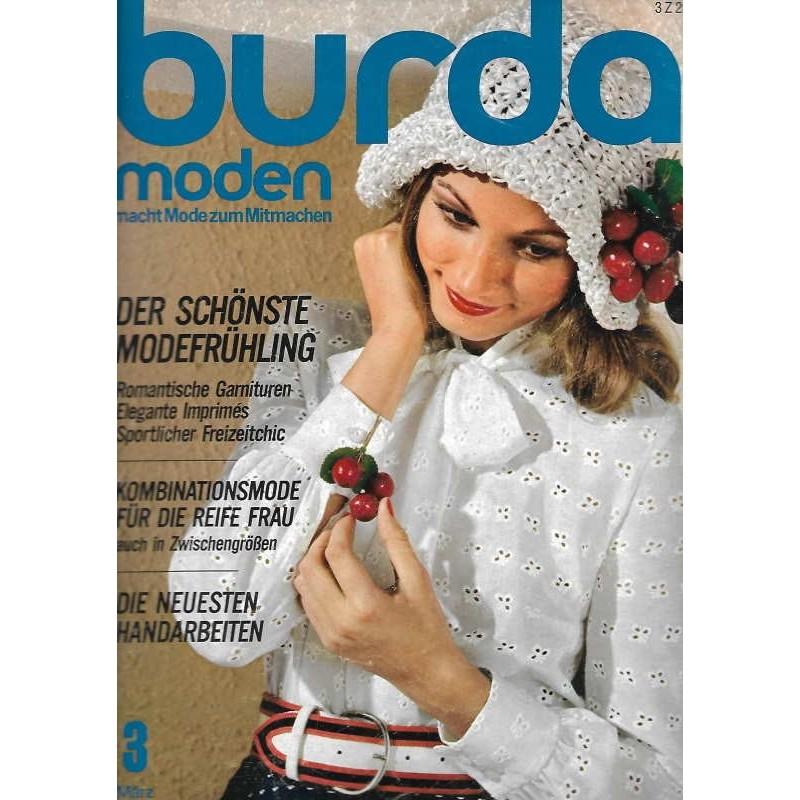 burda Moden 3/März 1972 - Der schönste Modefrühling