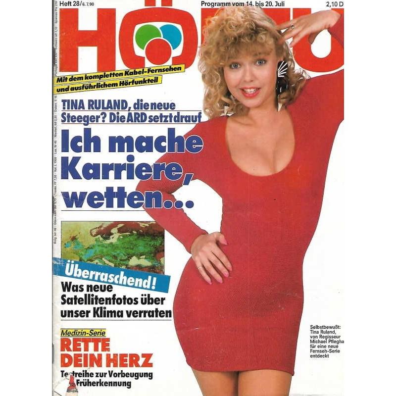 HÖRZU 28 / 14 bis 20 Juli 1990 - Tina Ruland macht Karriere