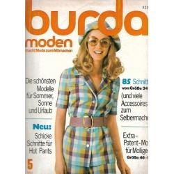 burda Moden 5/Mai 1971 - Schicke Schnitte für Hot Pants