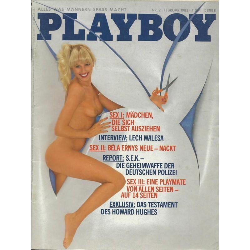 Playboy Nr.2 / Februar 1982 - Playmate Daniela Rückert