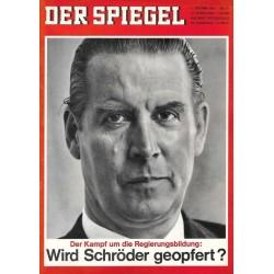 Der Spiegel Nr.41 / 6 Oktober 1965 - Wird Schröder geopfert?