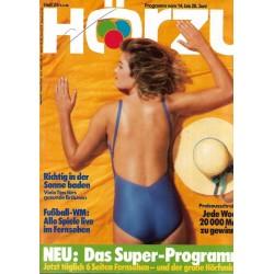 HÖRZU 24 / 14 bis 20 Juni 1986 - Gesunde Bräune