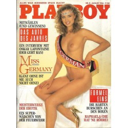 Playboy Nr.8 / August 1986 - Anke Symkowitz