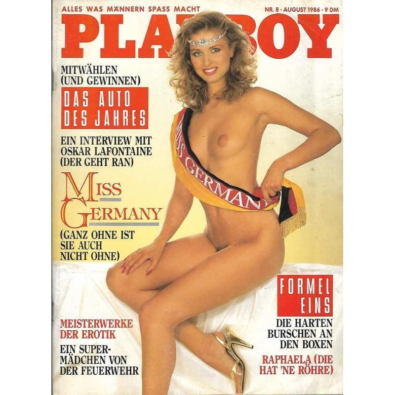 Playboy Nr.8 / August 1986 - Anke Symkowitz