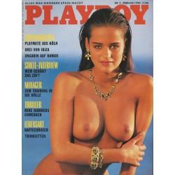 Playboy Nr.2 / Februar 1990 - Verina Wimmer