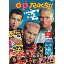 pop Rocky Nr.23 / 1988 - Exklusiv Bros Interview