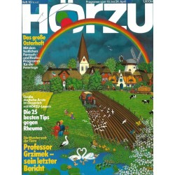 HÖRZU 16 / 18 bis 24 April 1987 - Das große Osterheft