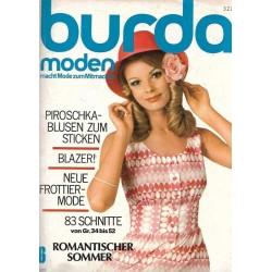 burda Moden 6/Juni 1971 - Romantischer Sommer