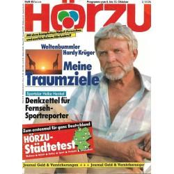 HÖRZU 40 / 6 bis 12 Oktober 1990 - Hardy Krüger