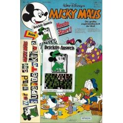 Micky Maus Nr. 39 / 18 September 1986 - Detektiv Ausweis