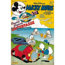 Micky Maus Nr. 37 / 4 September 1986 - Untertasse