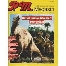 P.M. Ausgabe Juli 7/1989 - Rätsel um Raubsaurier