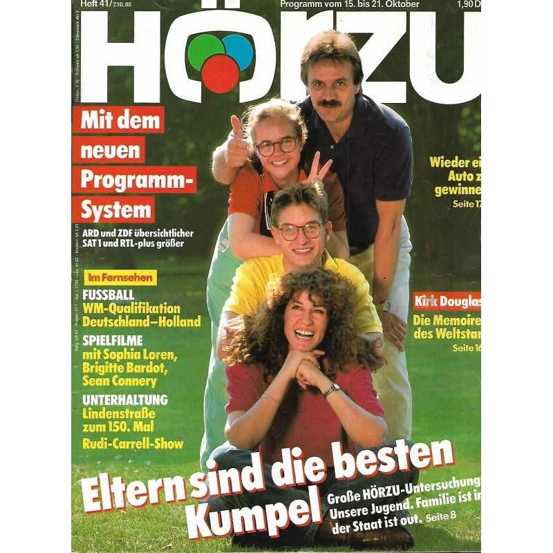 HÖRZU 41 / 15 bis 21 Oktober 1988 - Eltern die besten Kumpel!