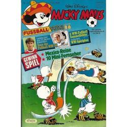 Micky Maus Nr. 21 / 17 Mai 1986 - Fussball WM 1986