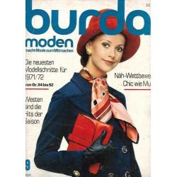 burda Moden 9/September 1971 - Chic wie Mutti