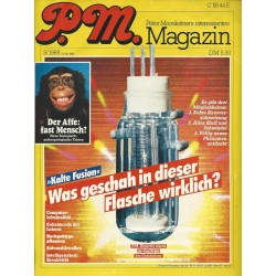 P.M. Ausgabe August 8/1989 - Kalte Fusion