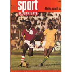Sport Illustrierte Nr.1 / 6 Januar 1970 - Afrika spielt mit