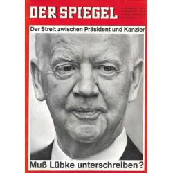 Der Spiegel Nr.42 / 13 Oktober 1965 - Muß Lüpke unterschreiben?
