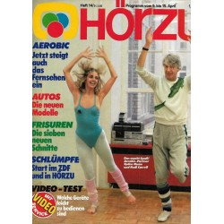 HÖRZU 14 / 9 bis 15 April 1983 - Aerobic