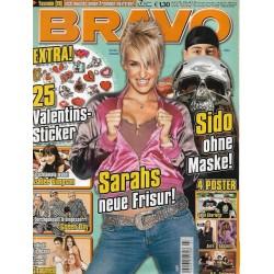 BRAVO Nr.7 / 9 Februar 2005 - Sarahs neue Frisur!