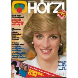HÖRZU 16 / 23 bis 29 April 1983 - Versöhnung mit Lady Di
