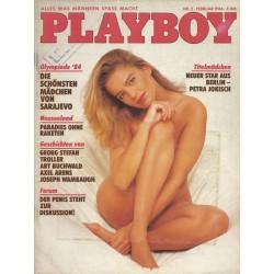 Playboy Nr.2 / Februar 1984 - Petra Jokisch