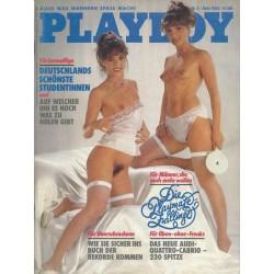 Playboy Nr.5 / Mai 1984 - Andrea Klippel & Simone Klippel