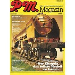 P.M. Ausgabe Dezember 12/1982 - Lokomotiven...