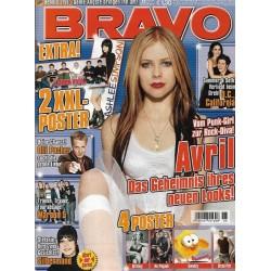 BRAVO Nr.6 / 2 Februar 2005 - Avril vom Punk zur Rock-Diva