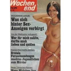 Wochenend Nr.38 - 15.09.1971 - Was sich hinter Sex-Anzeigen....