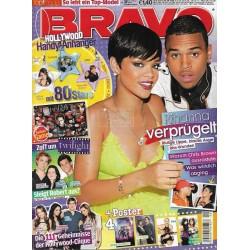 BRAVO Nr.9 / 18 Februar 2009 - Rihanna verprügelt