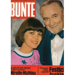 BUNTE Nr.40 / 21 September 1972 - Mireille Mathieu