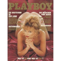 Playboy Nr.11 / November 1984 - Lesa Pedriana