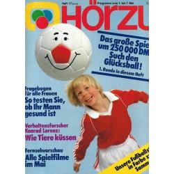 HÖRZU 17 / 1 bis 7 Mai 1982 - Such den Glücksball!