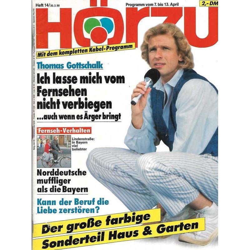HÖRZU 14 / 7 bis 13 April 1990 - Thomas Gottschalk