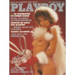 Playboy Nr.12 / Dezember 1984 - Sophia