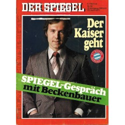 Der Spiegel Nr.18 / 25 April 1977 - Der Kaiser geht